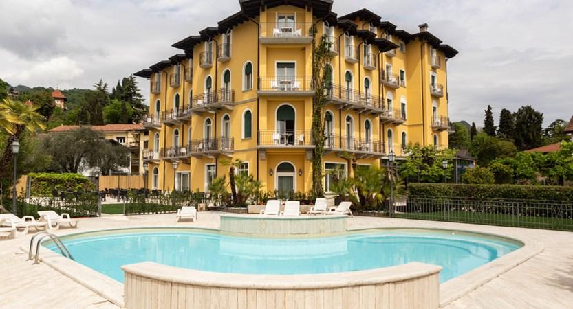 Hotel Villa Galeazzi, Exterior Pool View