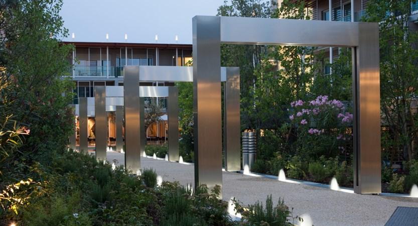 Aqualux spa & suites, gardens.JPG
