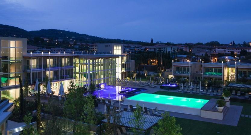 Aqualux spa & suites, night shot.JPG