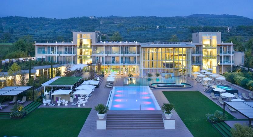 Aqualux spa & suites, panoramic view dusk.jpg