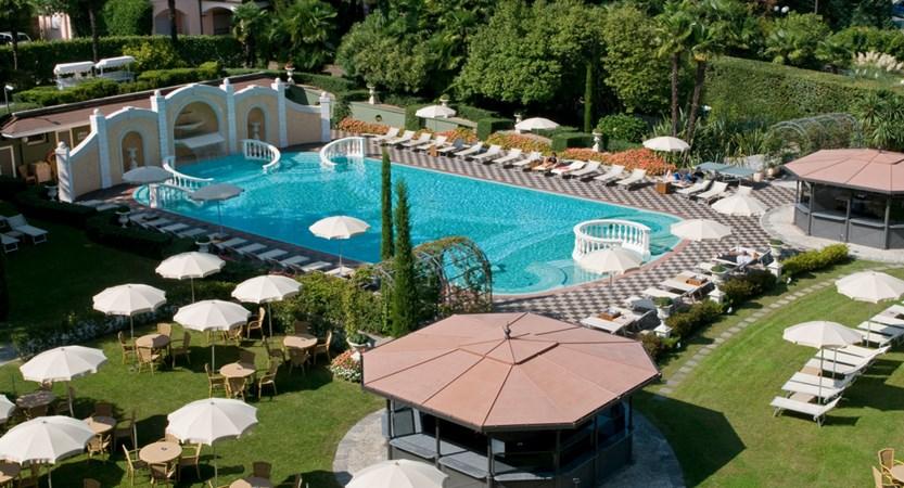 Grand Hotel Bristol, Pool and Garden