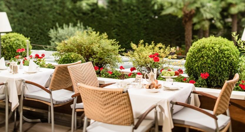 Hotel Meranerhof, Garden Terrace