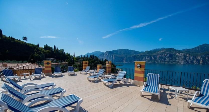 Hotel Cristallo, Sun Terrace