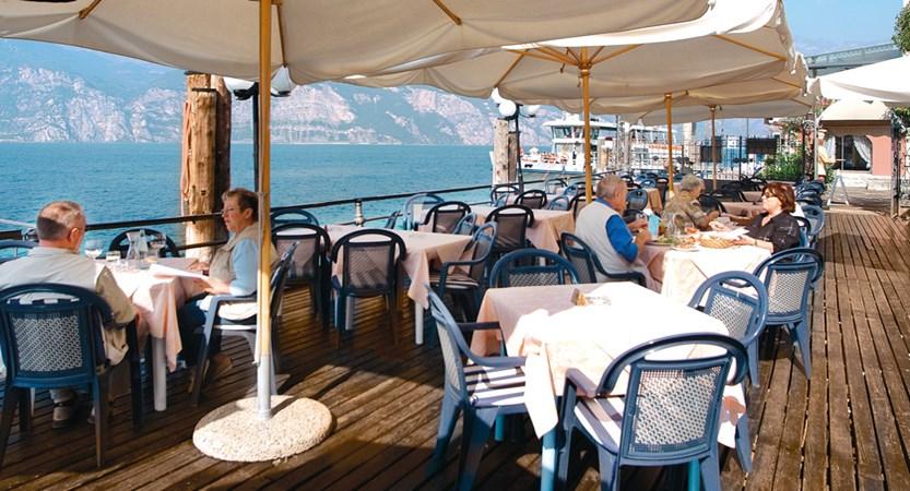 Hotel Malcesine, Dining Terrace