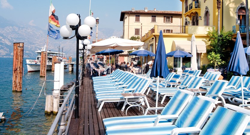 Hotel Malcesine, Sun Terrace