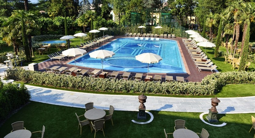 Hotel Simplon, Outdoor Pool and Gardens