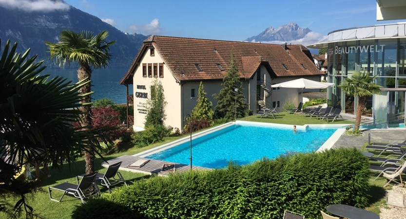 Hotel Alexander Weggis Swimming Pool