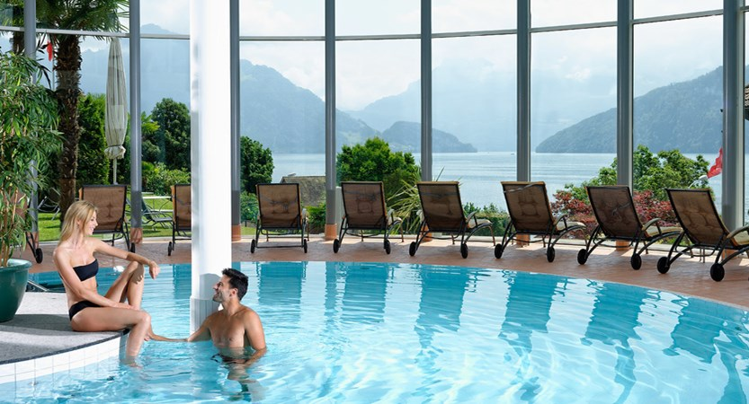 Hotel Alexander Weggis Indoor Pool