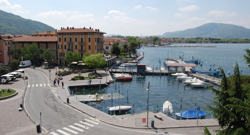 Hotel Ambra, Iseo, Harbour View