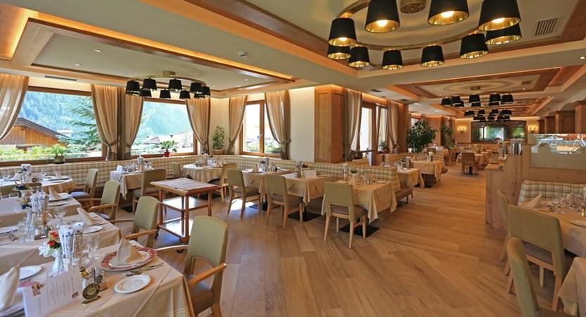 Hotel Cesa Tyrol, Canazei, Dining Room.JPG