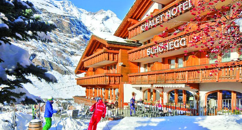 Zermatt Ski Map on