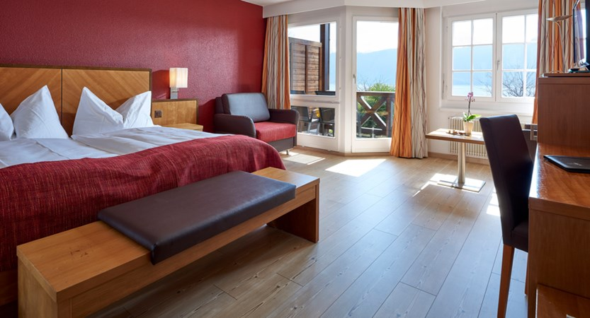 Hotel Gerbi Lake Lucerne Weggis Switzerland Lake View Room