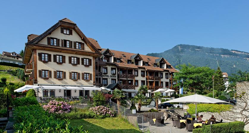 Hotel Gerbi Lake Lucerne Weggis Switzerland Exterior