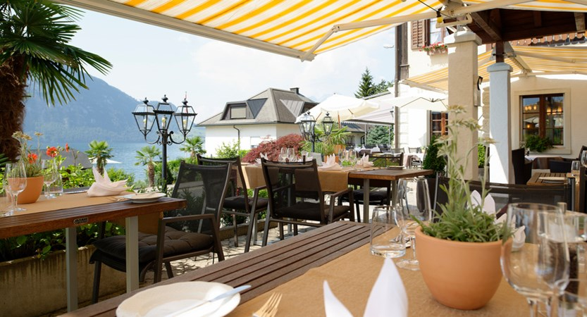 Hotel Gerbi Lake Lucerne Weggis Switzerland Sun Terrace