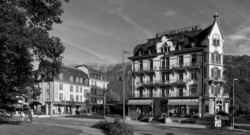 Hotel Carton Europe Switzerland Bernese Oberland Exterior