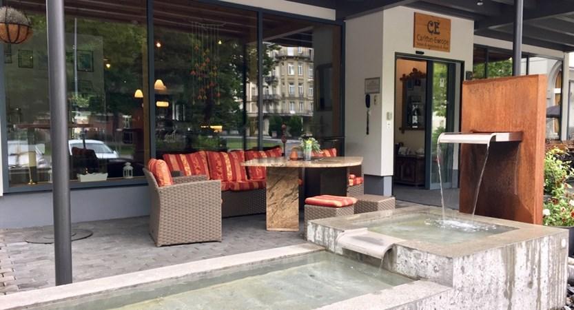 Hotel Carton Europe Switzerland Entrance
