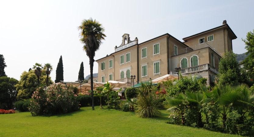 Hotel Du Parc, Rear Exterior
