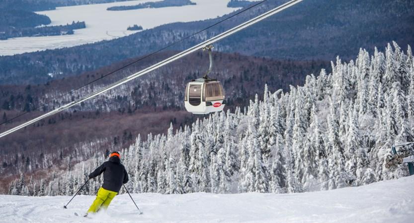 tremblant cable car canada ski