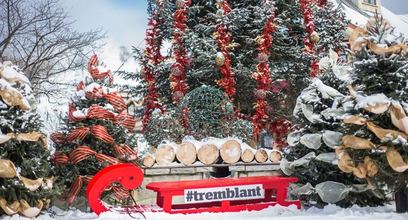 tremblant canada festive