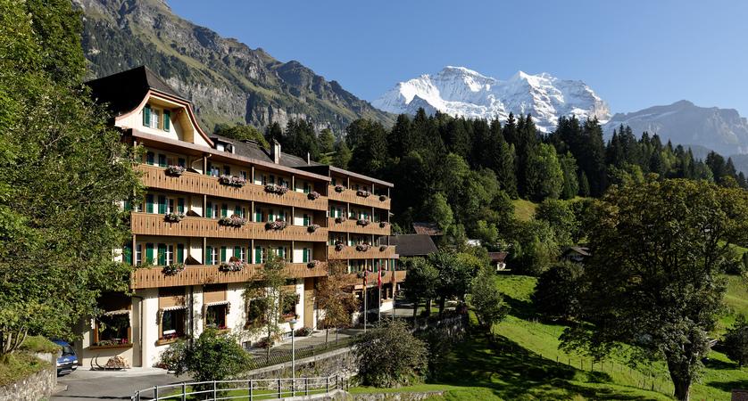 Hotel Alpenrose Wengen Switzerland Exterior