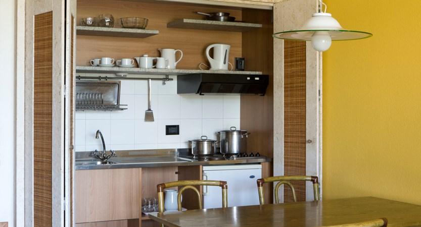 Poiano Apartments, Kitchen