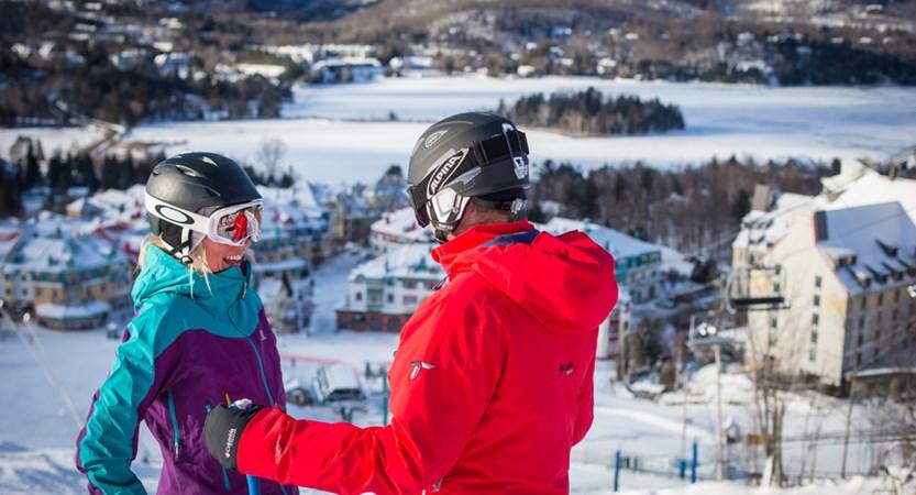 ski-in ski-out fairmont tremblant