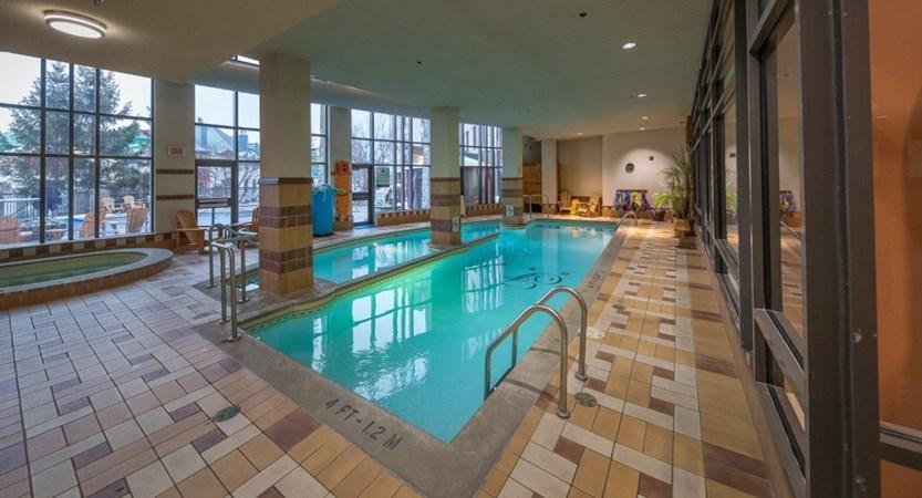 indoor pool fairmont tremblant