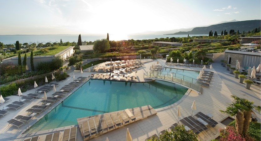 Parc Hotel Germano, Bridge Pool