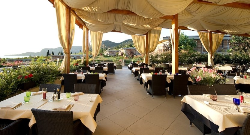 Parc Hotel Germano, Outdoor Dining Terrace