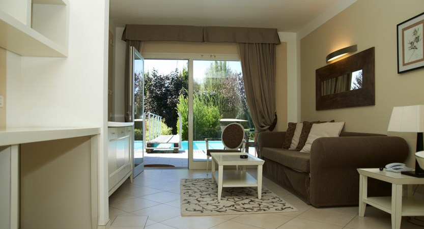 Parc Hotel Germano, Suite with Private Pool
