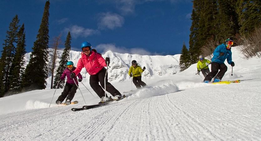 fernie canada group ski