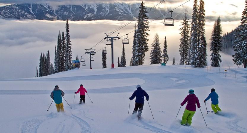 fernie canada skiers