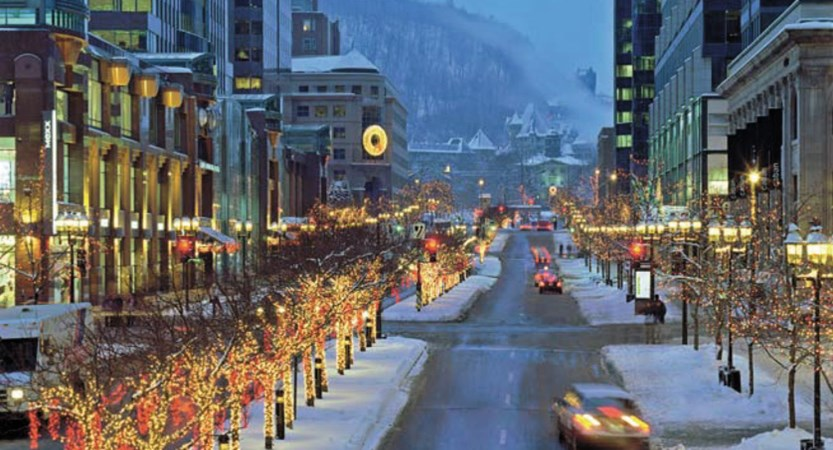 Montreal in Winter canada