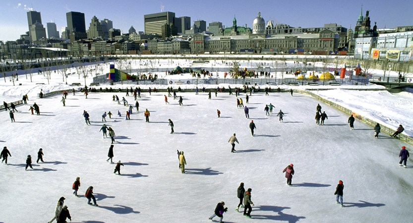 montreal canada ice skating