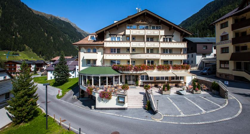 Hotel Jägerhof Ischgl Austria Exterior