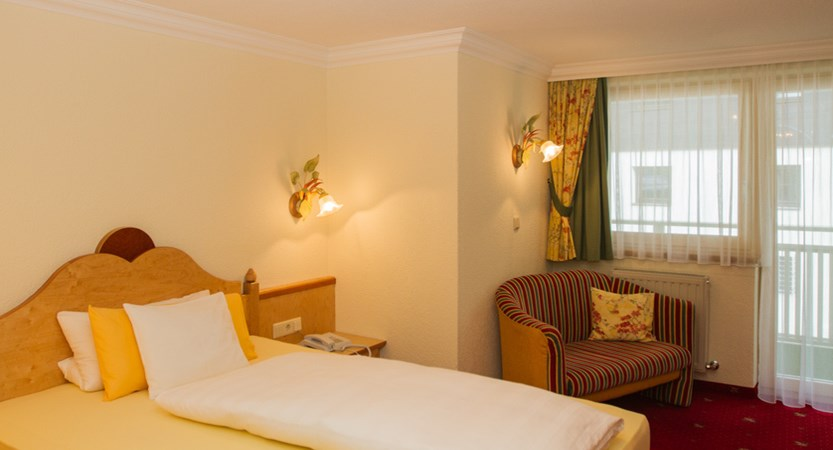 Hotel Jägerhof Ischgl Austria Bedroom