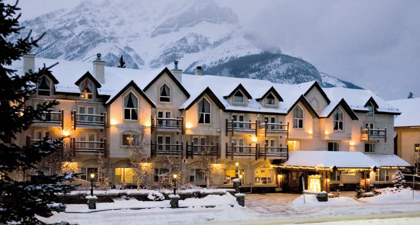 rundlestone lodge banff hotel