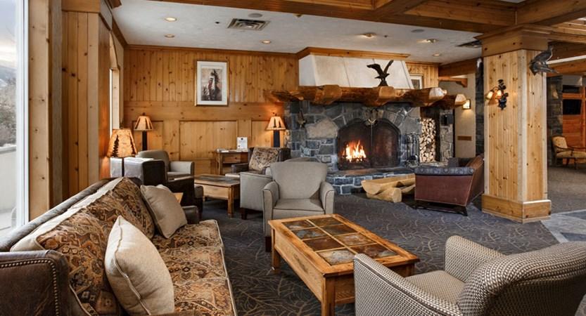 rundlestone lodge banff hotel lobby lounge