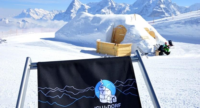 Iglu Dorf Zermatt Switzerland