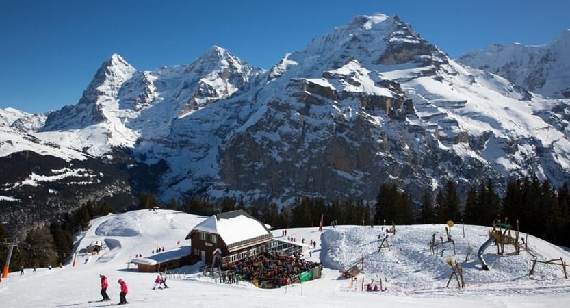 Allemendhubel Murren Switzerland