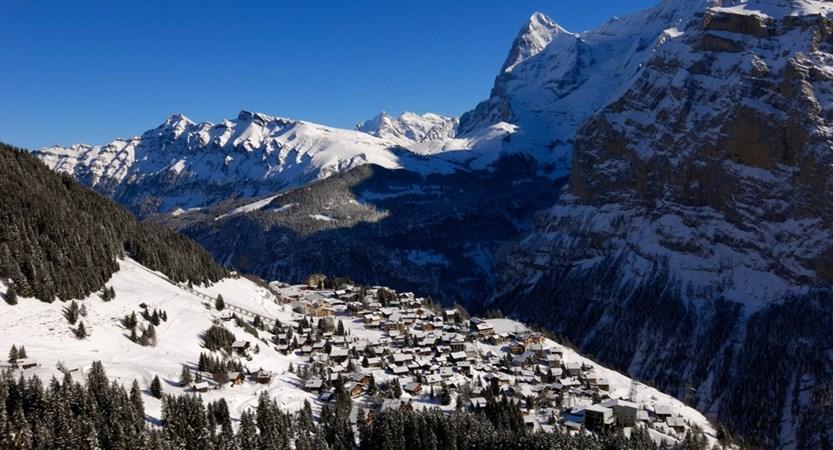 Mürren View Switzerland
