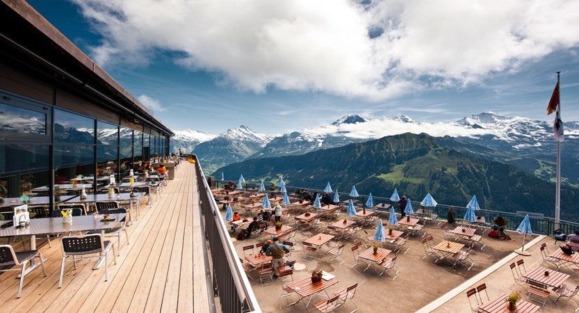 Bergrestaurant Schynige Platte Terrace Switzerland
