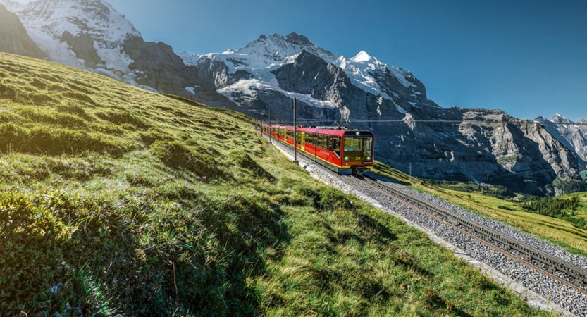 Jungfrau Train Summer Switzerland