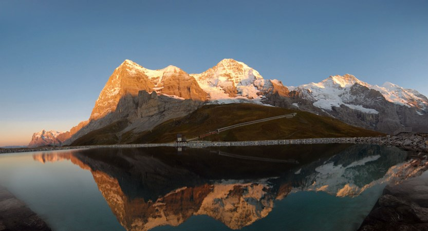 Kleine Scheidegg Bernese Oberland Switzerland
