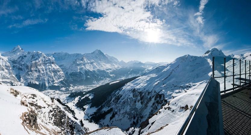Summit First Terrace Grindelwald Bernese Oberland