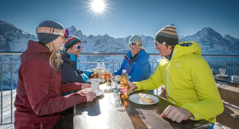Grindelwald Berg Restaurant Bernese Oberland Switzerland