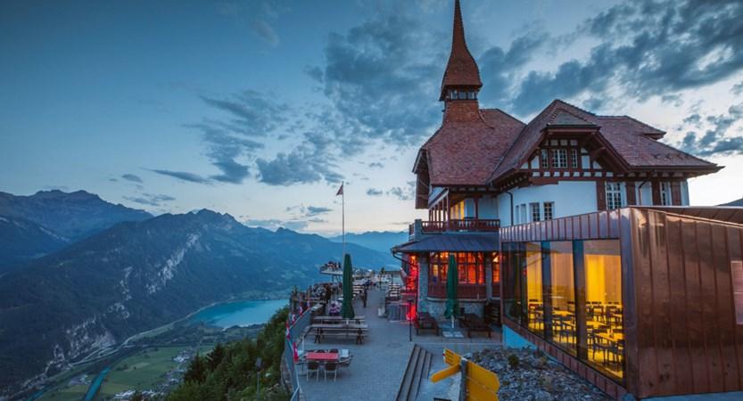 Harder Kulm Viewing Platform Interlaken Switzerland