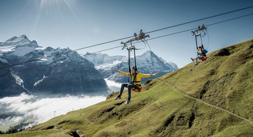 Grindelwald First Flyer Switzerland