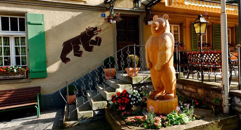 Front of House Bear Hotel Bären Bernese Oberland Switzerland Wilderswill