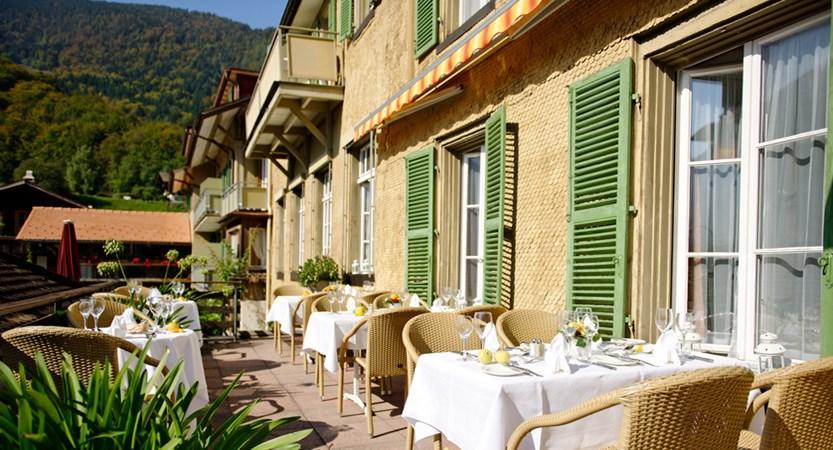 Sun Terrace Hotel Bären Bernese Oberland Switzerland Wilderswill